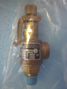 CRYOGENIC SERVICE RXSO BRONZE SAFETY RELIEF VALVES
