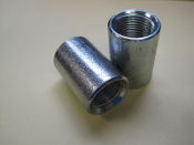 Parker Merchant Coupling 1/2 inch Female NPT fitting Galvanized