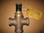 Johnson Controls V 4324-1007 mixing valve 1 inch 8329 3-way