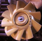 Impeller, Fan, Axial, air flow paddle 4140011920342 2650-2277-51