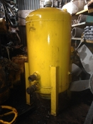 Vertical Round bottom storage tank fluid reservoir 50 gallon