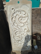 Scroll 142 Foundry Pattern Aluminum Sand Mold Decorative Fence