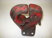 15 Ton Pintle Hooks Medium Duty 30000 lb towing capacity Red