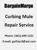 Concrete Curb and Gutter Mule Repair Service