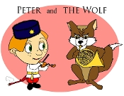 Peter and the Wolf Poster Set Patti Dewitt
