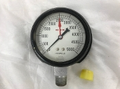 "0-5000 PSI Marsh Pressure Gauge 3"" Dial *"