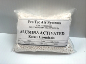 Desiccant Activated Alumina Grade A 1/8 in 2-5 MM 8 Ounces