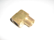Eaton Weatherhead 3400X6 Brass CA360 Fitting, 90 Degree Elbow,